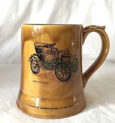 Wade Veteran Cars Car Series 2 No. 6 Mug - 1902 Baby Peugeot 12cm Tall