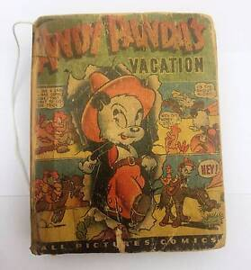 ANDY PANDAS Vacation All Pictures Comics Book Springwood Logan Area Preview