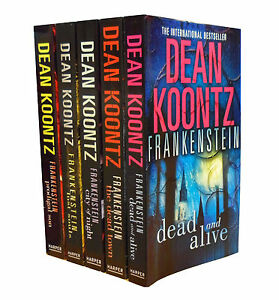 Frankenstein-Collection-By-Dean-Koontz-5-Books-Set-Dead-and-Alive-The-Dead-Town