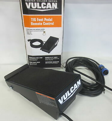 Welding Vulcan Tig Foot Pedal Remote Control Va-tigfp