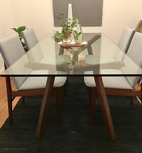 Retro/ mid century/ vintage timber dining chairs Nundah Brisbane North East Preview