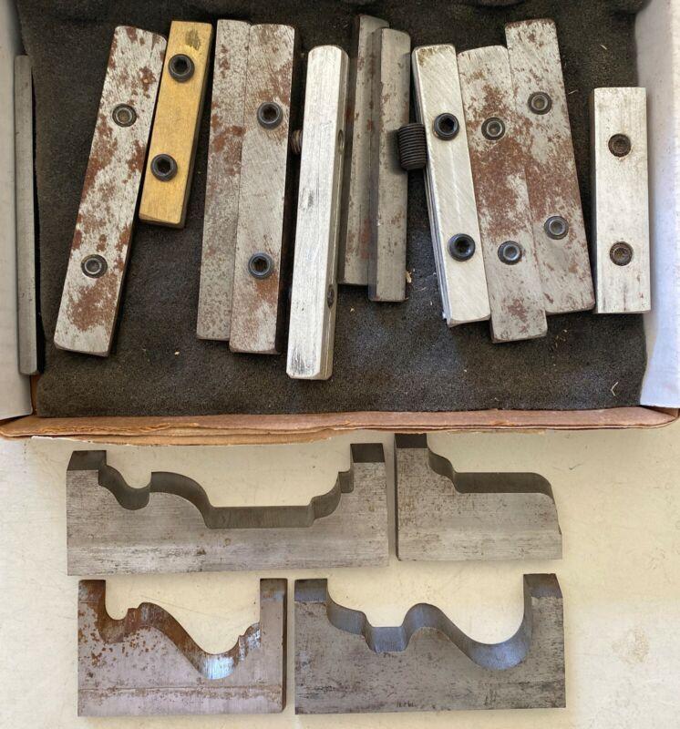 Set of Four WoodMaster Moulding Knifes