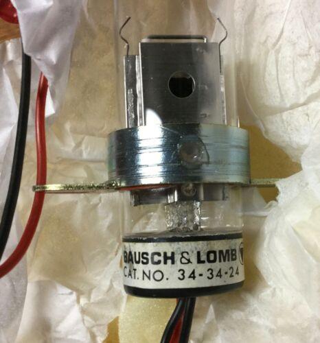 Bausch & Lomb 34-34-24 b&l Deuterium test lamp bulb 343424 for spectrophotometer