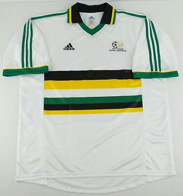 Vintage Adidas 2000 South Africa Football Association Soccer Jersey Size Mens XL image