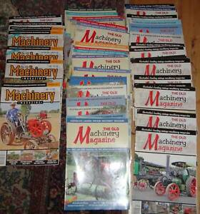 55 ISSUES OF THE OLD MACHINERY MAGAZINE NUMBERS 125 - 179 Mitchell Gungahlin Area Preview