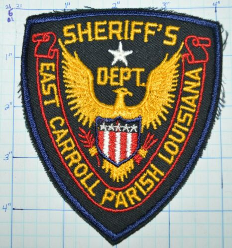 LOUISIANA, EAST CARROLL PARISH SHERIFF