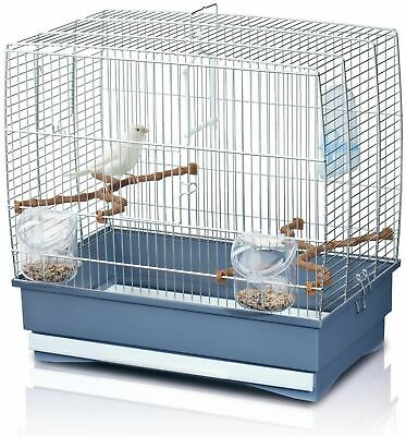 Imac Irene 2 Budgie Cage Chrome Caged Bird Cages BN