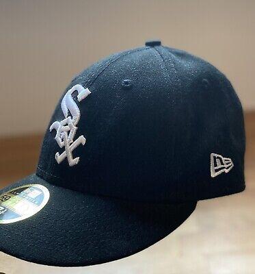 New Era Low Profile 59Fifty Sox Baseball Cap Size 7 3/8