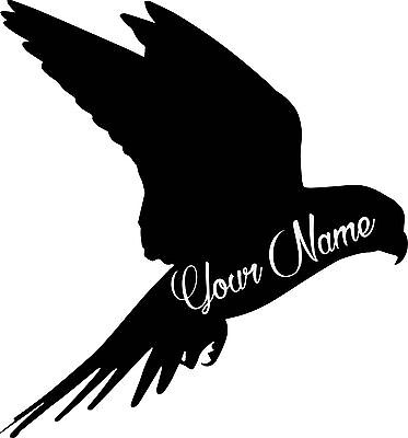 Custom bird vinyl decal sticker for car/truck laptop window custom.