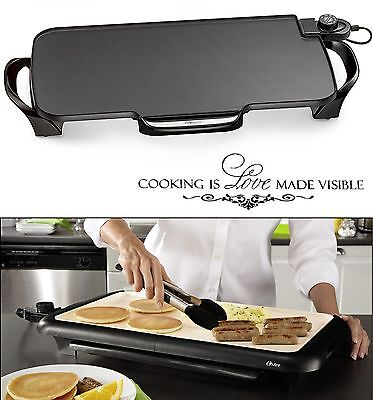 Electric Flat Top Grill Restaurant Professional Commercial 22 Kitchen Griddle