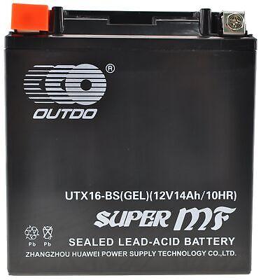Usado, Bateria Moto YTX16-BS-Gel Bateria de Gel comprar usado  Enviando para Brazil