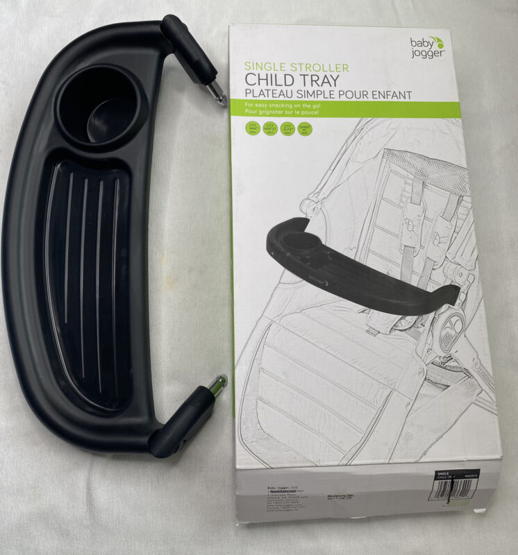 New open box Baby Jogger Single Stroller Child Tray for city mini city elite