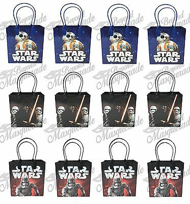 Disney Star Wars Party Favor Supplies Goody Loot Gift Bags [12ct]