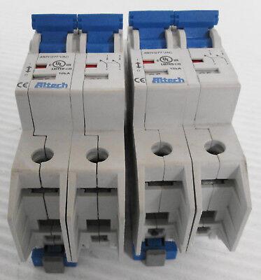 2 Altech C5 Circuit Breaker 2p 480y277vac 50-60hz
