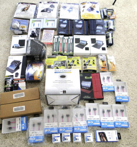 Wholesale Lot MSRP $1K+ VALUE Electronics Gen. Merch. Pet Salesman Samples NEW