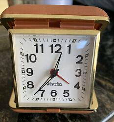 Vintage Westclox Travel Alarm Clock