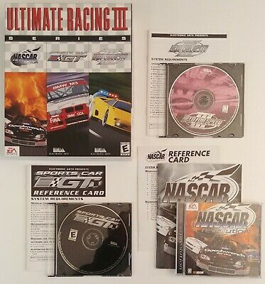 - Ultimate Racing Series III PC- NASCAR Revolution, Sports Car GT, NFS Hot Pursuit