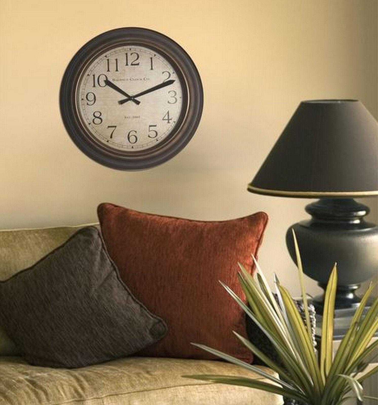 Baldauf Clock Company Bronze Brushed Oil Rub 12 Round