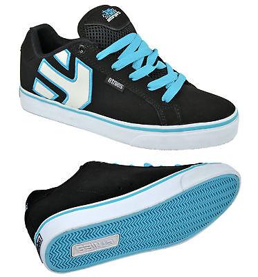 Vulc Schwarz Wildleder (Etnies Chad Reed Fader Vulc black/blue Skater Schuhe/Sneaker Größenauswahl!)