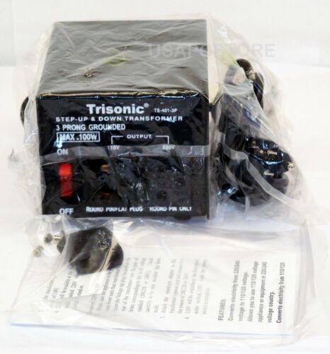new 100w watt step up/down converter transformer voltage 110v to 220v adapter