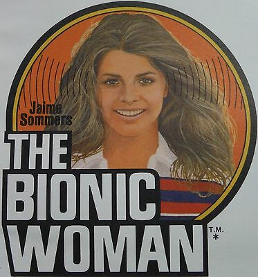 Bionic Woman Fan Club Action Kit! Six Million Dollar Man 1974 never signed!