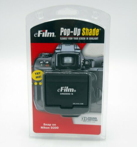 eFilm Pop-Up Shade Snap-on for Nikon D200 BRAND NEW