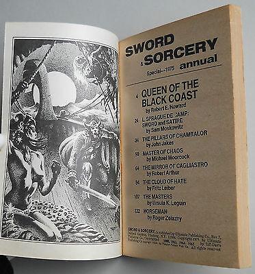Queen of the black coast Conan Belit Stephen E. Fabian Sword & Sorcery Annual 19