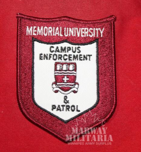 Memorial University (Newfoundland) Campus Enforcement & Patrol Flash (inv 7971)