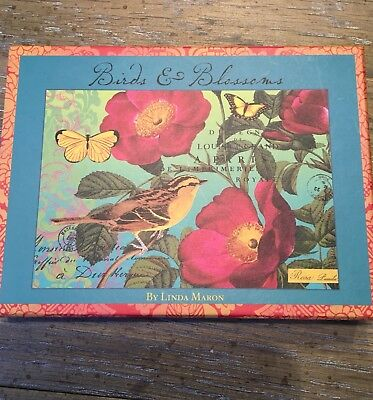 Bird & Blossoms Note Cards - 16 Note Cards