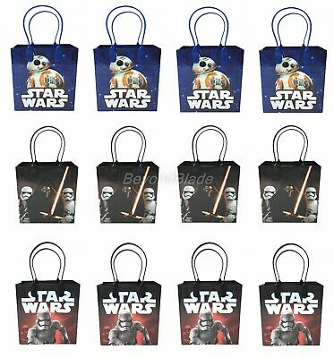 Disney Star Wars Goody Bag Party Goodie Gift Birthday Candy Bags 12pc