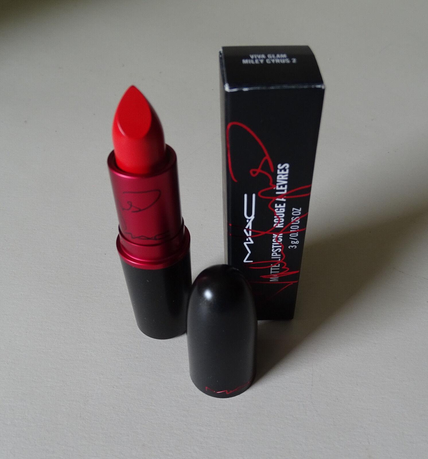 MAC Lipstick Rouge A Levres Viva Glam Miley Cyrus 2 – NEU