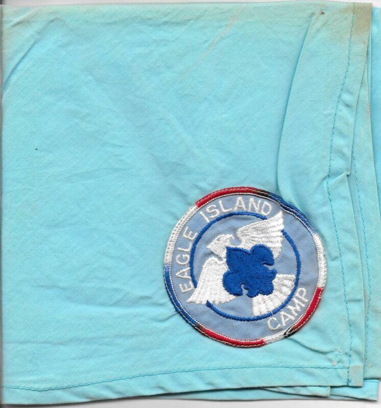 Eagle Island Camp Neckerchief Boy Scouts of America BSA