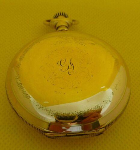 Antique Big Elgin Gold Fill Hunting Case Pocket Watch- BEST OFFER -