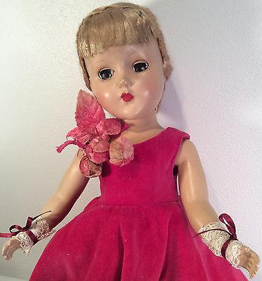 "Vintage Arranbee RB 1949's Hard Plastic - 14"" Nancy Lee ~ Fabulous Look"