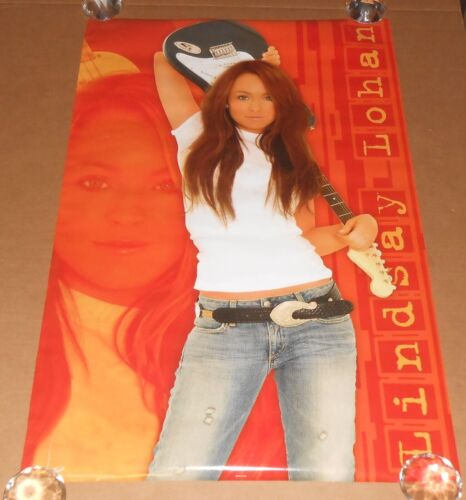 Lindsay Lohan #8442 Poster 2004 Original 34x22