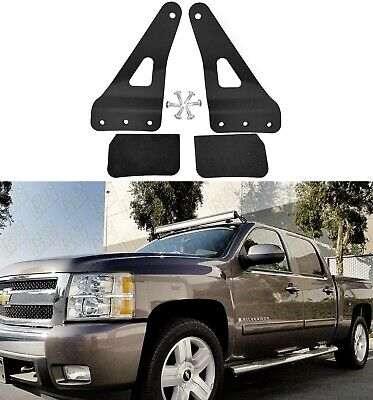 "NEW Mounting Bracket for Chevy/GMC 52"" Straight LED Bar Upper Windshield 99-13"