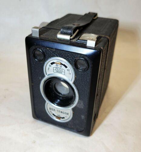 Antique vtg ZEISS Box-Tengor 55/2 Medium Format Camera Frontar Lens, Untested