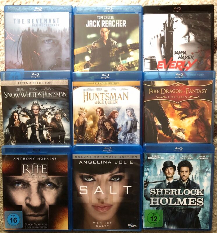 Bluray Film Paket