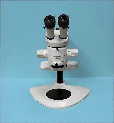 Leica Ms5 Stereo Microscope Techniquip Proline 40 Led Light Unit