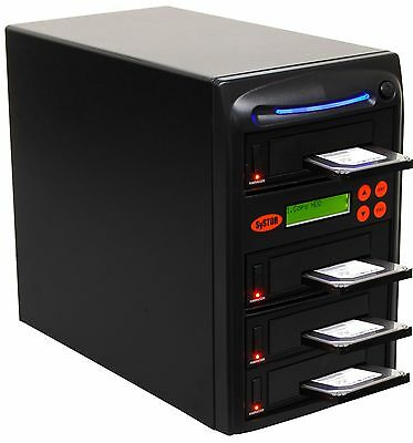 "SySTOR 1-3 SATA 2.5""&3.5"" Dual Port/Hot Swap Hard Drive HDD/SSD Duplicator/Wipe"