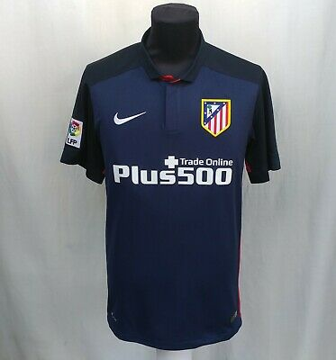 Atletico Madrid 2015/2016 Away Football Jersey Rare Nike Soccer Shirt Size S Top image