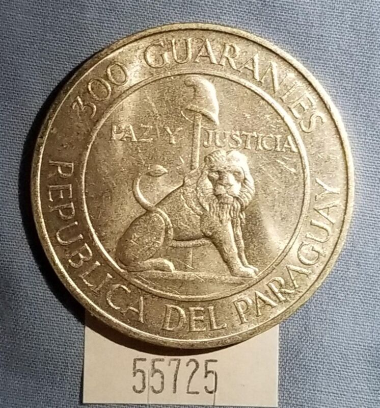 West Point Coins ~ Paraguay 1962 300 Guaranies KM#29 Silver