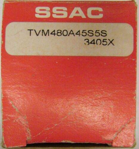 ABB TVM480A45S5S 3 Phase Monitor SSAC Relay 480 VAC 5 Second
