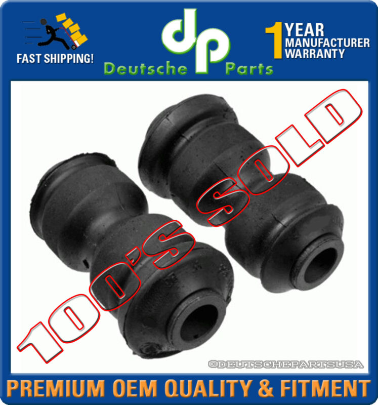 REAR TRAILING ARM BUSH BUSHING BUSHINGS 33329061945 PAIR for BMW E30 E36 E28 Z3