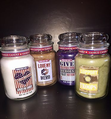 Yankee Girl (4 Yankee Candle HOMEFRONT GIRL Collection 22 Oz Jars Each)