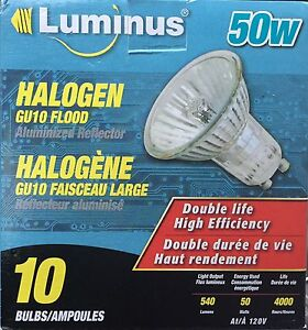 Halogen flood bulbs