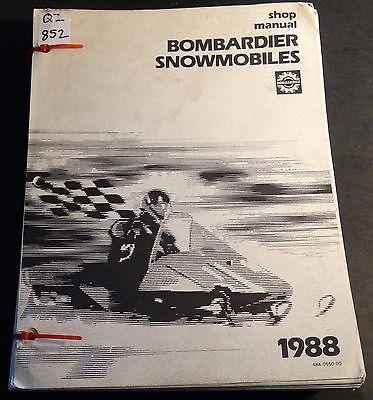 1978 bombardier snowmobile repair manual pdf