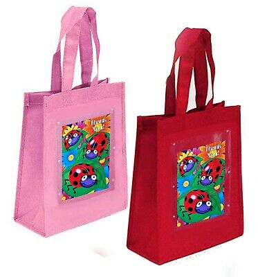 Ladybugs Party Favor Treat Goody Bags-Non-Woven Fabric-10
