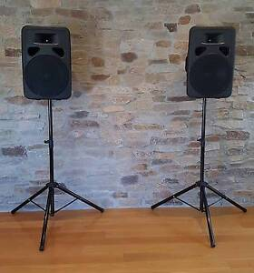 Hire Speaker PA system, Wireless connection, tripods and sm58 mic Surrey Hills Boroondara Area Preview
