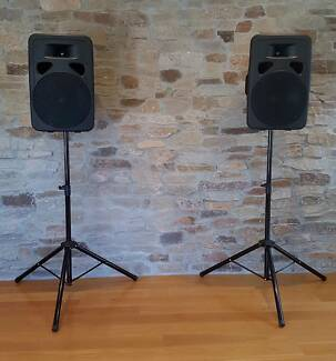 Hire Bluetooth Speaker PA system, Marquee, Lights, mic